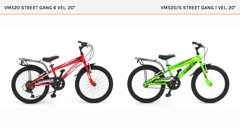 VM 520 e 520/S STREET GANG BOY